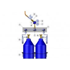 Endüstriyel Tip Basınç Kontrol Paneli - 2 Tüplük